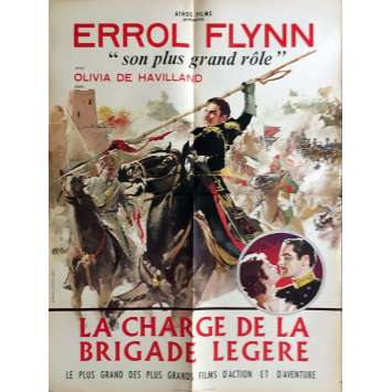 THE CHARGE OF THE LIGHT BRIGADE Movie Poster 23x32 in. - 1936 - Michael Curtiz, Errol Flynn