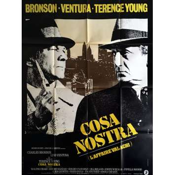 COSA NOSTRA Affiche de film 120x160 cm - 1972 - Charles Bronson, Lino Ventura, Terence Young