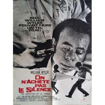 ON N'ACHETE PAS LE SILENCE Affiche de film 60x80 cm - 1970 - Lee J. Cobb, William Wyler