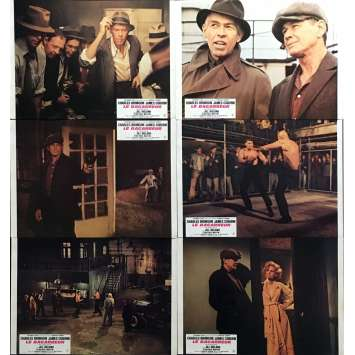 HARD TIMES Lobby Cards 9x12 in. - x6 1975 - Walter Hill, Charles Bronson
