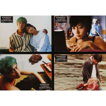 SYMPATHY FOR MR VENGEANCE Lobby Cards 9x12 in. - x8 2002 - Chan-Wook Park, Hang-Ho Song
