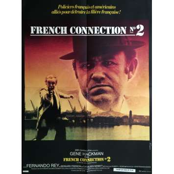 FRENCH CONNECTION II Movie Poster 23x32 in. - 1975 - John Frankenheimer, Gene Hackman