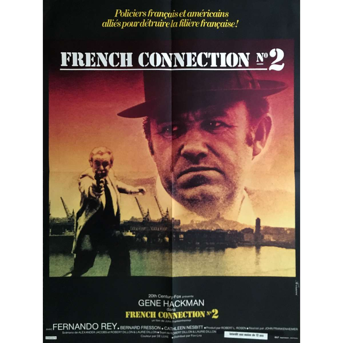 FRENCH CONNECTION II Movie Poster 23x32 in.