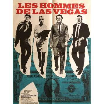 LES HOMMES DE LAS VEGAS Affiche de film 60x80 cm - 1968 - Gary Lockwood, Antonio Isasi