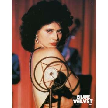 BLUE VELVET Lobby Card 8x10 in. - 1986 - David Lynch, Isabella Rosselini