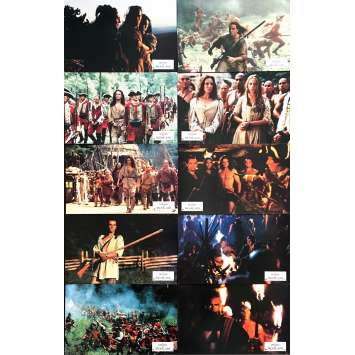 LE DERNIER DES MOHICANS Photos de film 18x26 cm - x10 1992 - Daniel Day-Lewis, Michael Mann