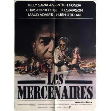 LES MERCENAIRES Affiche de film 60x80 cm - 1976 - Telly Savalas, Val Guest
