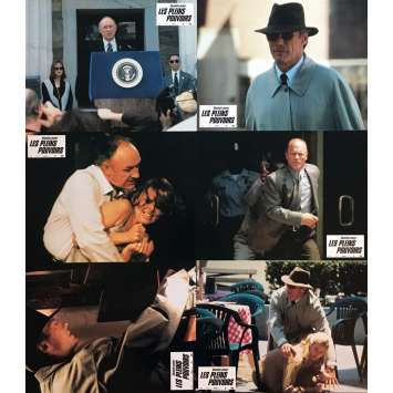 ABSOLUTE POWER Lobby Cards 9x12 in. - x6 1997 - Clint Eastwood, Gene Hackman