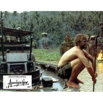 APOCALYPSE NOW Lobby Card 8x10 in. - N11 1979 - Francis Ford Coppola, Marlon Brando