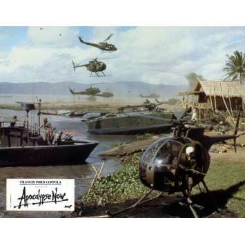 APOCALYPSE NOW Photo de film 20x25 cm - N10 1979 - Marlon Brando, Francis Ford Coppola