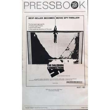 NOTRE AGENT A SALZBURG Dossier de presse 20x30 cm - 1972 - Barry Newman, Lee H. Katzin