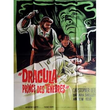 DRACULA PRINCE DES TENEBRES Affiche de film 120x160 - 1966 - Christopher Lee, Terence Fisher