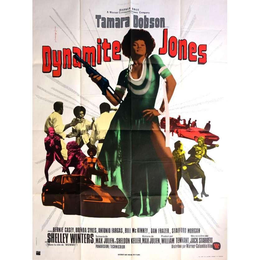 DYNAMITE JONES Affiche de Film 120x160 - 1973 - Tamara Dobson, Jack Starrett