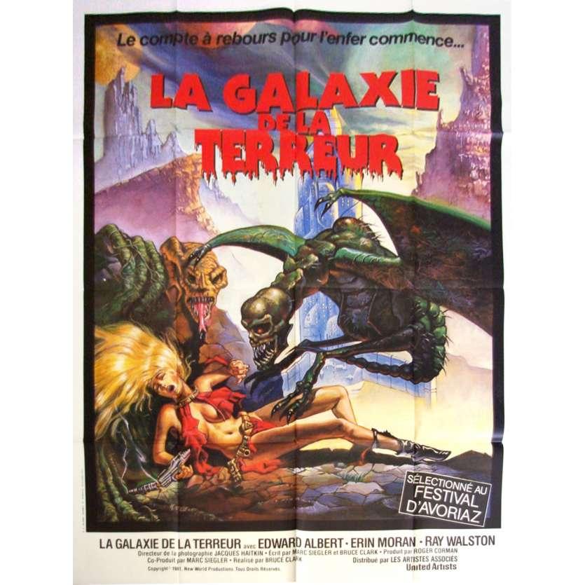 GALAXY OF TERROR Movie Poster - Roger Corman