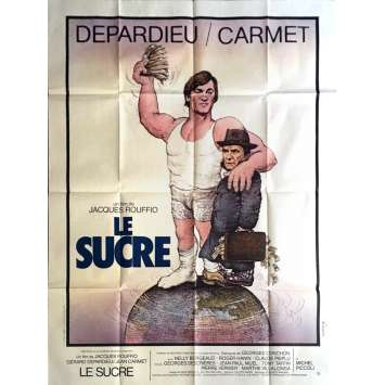 SUGAR SUGAR Movie Poster 47x63 in. - 1978 - Jacques Rouffio, Gérard Depardieu