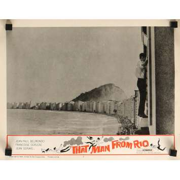 L'HOMME DE RIO Photo de film 28x36 cm - N04 1964 - Jean-Paul Belmondo, Philippe de Broca