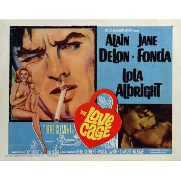 JOY HOUSE Lobby Card 11x14 in. - N01 1964 - René Clément, Alain Delon