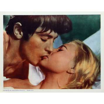 JOY HOUSE Lobby Card 11x14 in. - N08 1964 - René Clément, Alain Delon