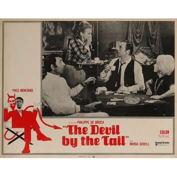 THE DEVIL BY THE TAIL Lobby Card 11x14 in. - N03 1969 - Philippe de Broca, Yves Montand