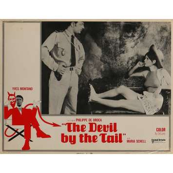 THE DEVIL BY THE TAIL Lobby Card 11x14 in. - N01 1969 - Philippe de Broca, Yves Montand