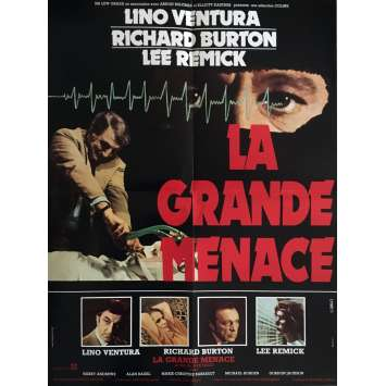 LA GRANDE MENACE Affiche de film 60x80 cm - 1978 - Richard Burton, Jack Gold