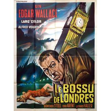 THE HUNCHBACK OF SOHO Movie Poster - Edgar Wallace