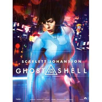 GHOST IN THE SHELL Affiche de film 120x160 cm - 2017 - Scarlett Johansson, Rupert Sanders