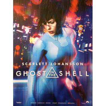 GHOST IN THE SHELL Movie Poster 15x21 in. - 2017 - Rupert Sanders, Scarlett Johansson