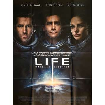 LIFE Movie Poster 47x63 in. - 2017 - Daniel Espinosa, Jake Gyllenhaal