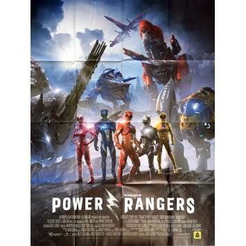 POWER RANGERS Movie Poster 47x63 in. - 2017 - Dean Israelite, Dacre Montgomery