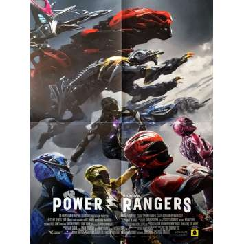 POWER RANGERS Movie Poster 15x21 in. - 2017 - Dean Israelite, Dacre Montgomery