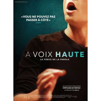 A VOIX HAUTE Movie Poster 15x21 in. - 2017 - Stéphane de Freitas , Ladj ly