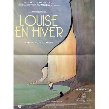 LOUISE EN HIVER Affiche de film 40x60 cm - 2016 - Diane Dassigny, Jean-François Laguionie