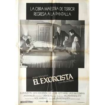 THE EXORCIST Movie Poster 29x40 in. - 1974 - William Friedkin, Max Von Sidow