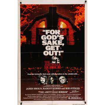 THE AMITYVILLE HORROR Movie Poster 27x40 in. - 1979 - Stuart Rosenberg, James Brolin