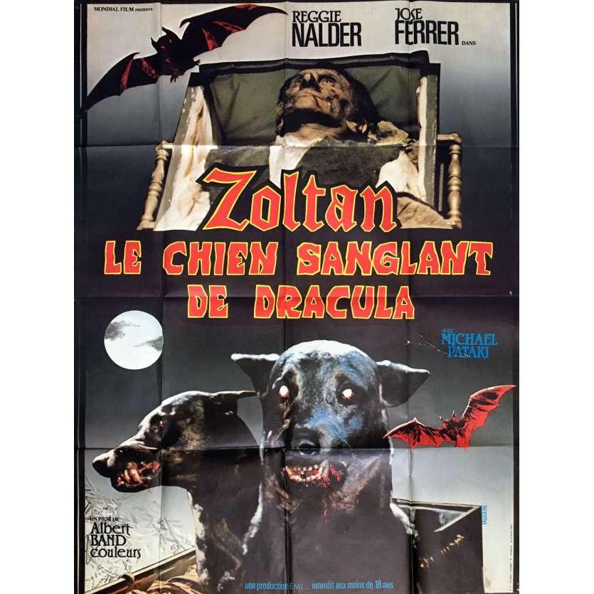 DRACULA'S DOG Movie Poster 47x63 in. - 1977 - Albert Band, José Ferrer