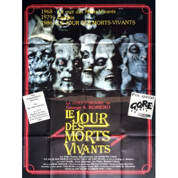 DAY OF THE DEAD Movie Poster 47x63 in. - 1985 - George A. Romero, Lori Cardille