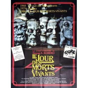 LE JOUR DES MORTS VIVANTS Affiche de film 120x160 cm - 1985 - Lori Cardille, George A. Romero