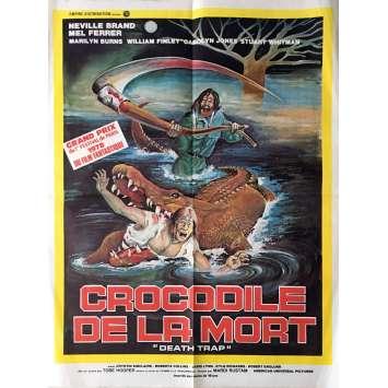 LE CROCODILE DE LA MORT Affiche de film 60x80 cm - 1976 - Neville Brand, Tobe Hooper