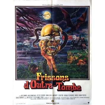 HISTOIRES D'OUTRE-TOMBE Affiche de film 60x80 cm - 1972 - Peter Cushing, Freddie Francis