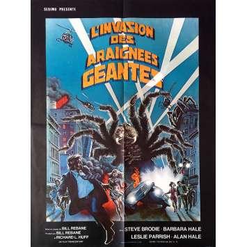 L'INVASION DES ARAIGNEES GEANTES Affiche de film 60x80 cm - 1975 - Steve Brodie, Bill Rebane