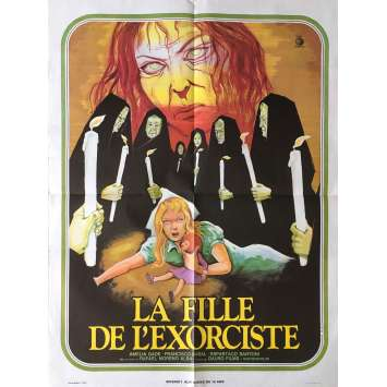 LA FILLE DE L'EXORCISTE Affiche de film 60x80 cm - 1971 - Analia Gadé, Rafael Moreno Alba