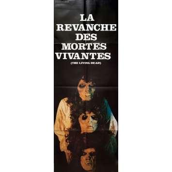 THE REVENGE OF THE LIVING DEAD GIRLS Movie Poster 23x63 in. - 1987 - Pierre B. Reinhard, Cornélia Wilms