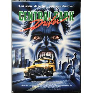 CENTRAL PARK DRIFTER Movie Poster 15x21 in. - 1987 - Jerry Ciccoritti, Michael A. Miranda