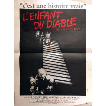 THE CHANGELING - L'ENFANT DU DIABLE Affiche de film 40x60 cm - 1980 - George C. Scott, Peter Medak
