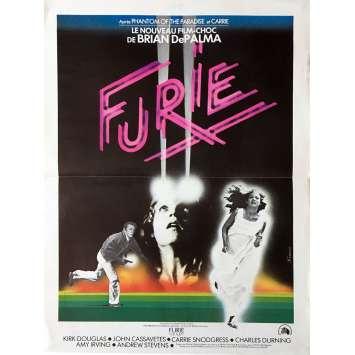 FURIE Affiche de film 40x60 cm - 1978 - Kirk Douglas, Brian de Palma