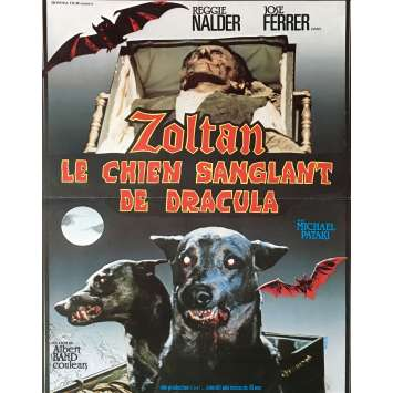 ZOLTAN LE CHIEN SANGLANT DE DRACULA Affiche de film 40x60 cm - 1977 - José Ferrer, Albert Band