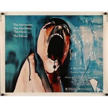 PINK FLOYD THE WALL Movie Poster 22x28 in. - Half Sheet 1982 - Alan Parker, Bob Geldof