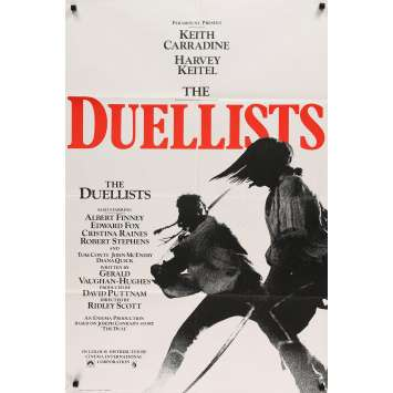 DUELLISTS Movie Poster 27x40 in. - 1977 - Ridley Scott, Harvey Keitel