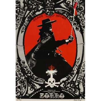 Mauvais-genres.com ALAIN DELON Zorro Affiche du film CZ 1977 Affiches cinéma
